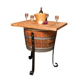 Old World Wine Cellar Table-Island