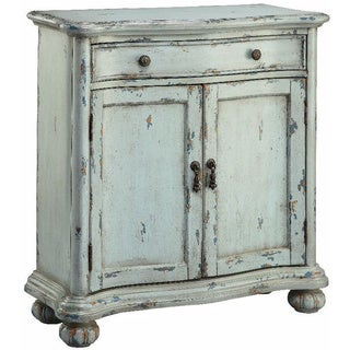 Glendale Weathered Robin Egg Blue Cabinet