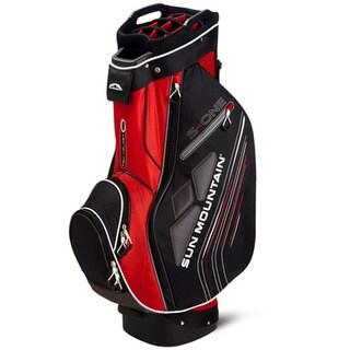 Sun Mountain S-One Red/ Black/ White Golf Cart Bag