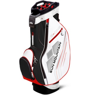 Sun Mountain S-One Black/ White/ Red Golf Cart Bag