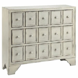 Elkhart Creamy White 3-drawer Chest