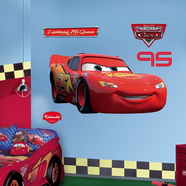 Fathead Lightning McQueen Wall Decals