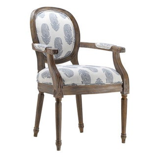 Vireo New Delhi Royal Fabric Barrel Back Chair
