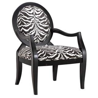 Linnet Zanzibar Pewter Fabric Occasional Chair