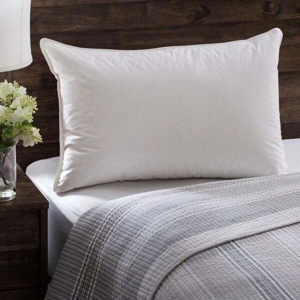 European Heritage Down Allure Hypoallergenic Medium Firmness White Down Pillow