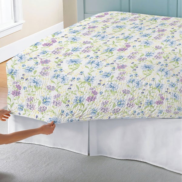 Bed Tite Marissa Floral 300 Thread Count Cotton Percale