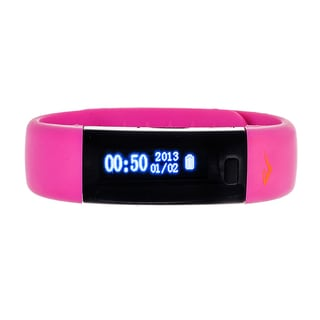 Everlast Women's Pink Wireless Fitness Activity Tracker / Sleep Monitor