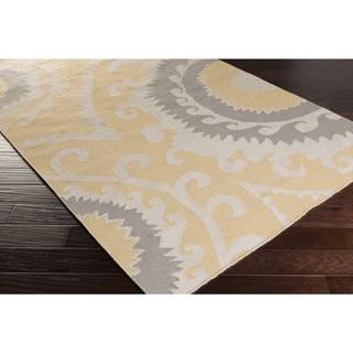Hand-woven Sam Reversible Wool Rug (2' x 3')