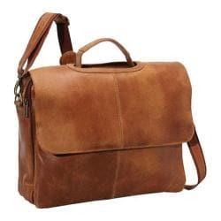 LeDonne DS-101 Tan Laptop Messenger Bag
