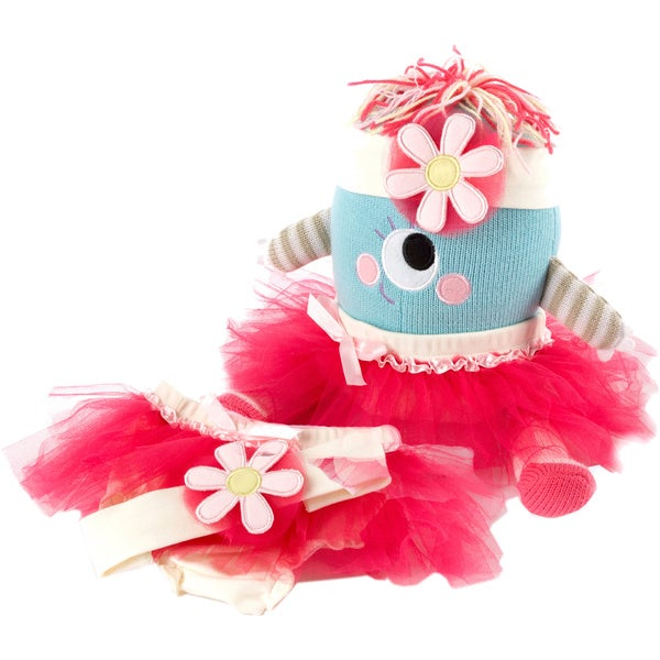 Girls' Clara the Closet Monster Baby Bloomers Gift Set