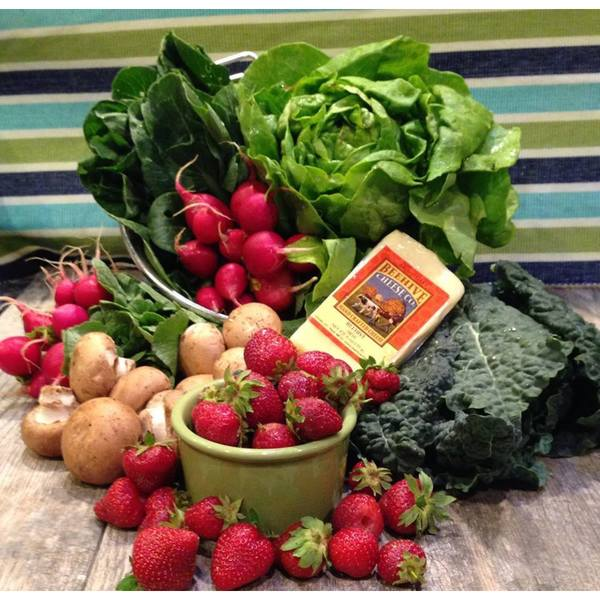 4-Week Subscription: Farmer Next Door Produce and Pantry Grocery Bundle (Local Delivery)