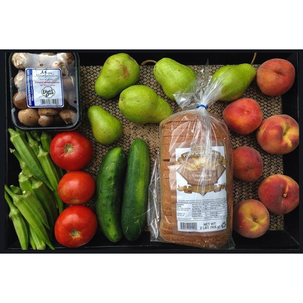 Farmer Next Door Seasonal Produce Bundle with Local Bread (Local Delivery)