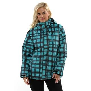 Pulse Women's Black and Emerald Havoc Jacket