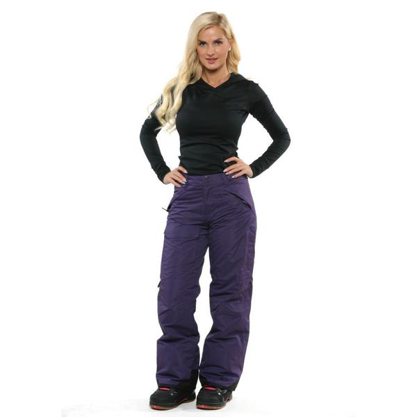 Pulse Women's Purple Rider Snowboard Pants