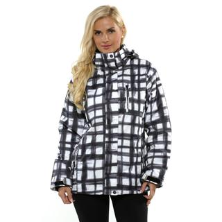 Pulse Women's Black and White Plus Size Havoc Jacket
