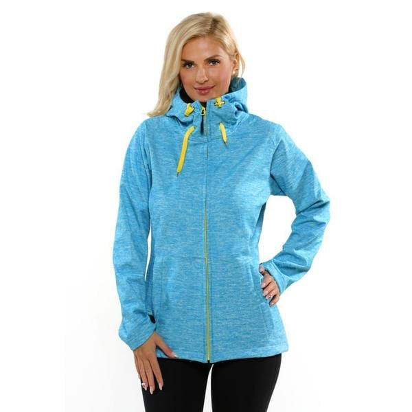 Pulse Women's Sky Blue Newport Soft Shell Jacket