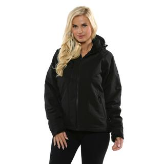 Pulse Women's Black Eclipse Insulated Soft Shell Jacket