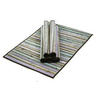 Handwoven Cotton Urban Earth Tone Placemats (Set of 6)
