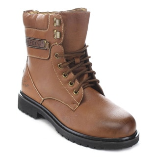 Polar Fox Men's 'M3-578' Brown Lace-up Work Boots
