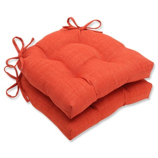 Pillow Perfect Pure Shock Reversible Chair Pads (Set of 2)