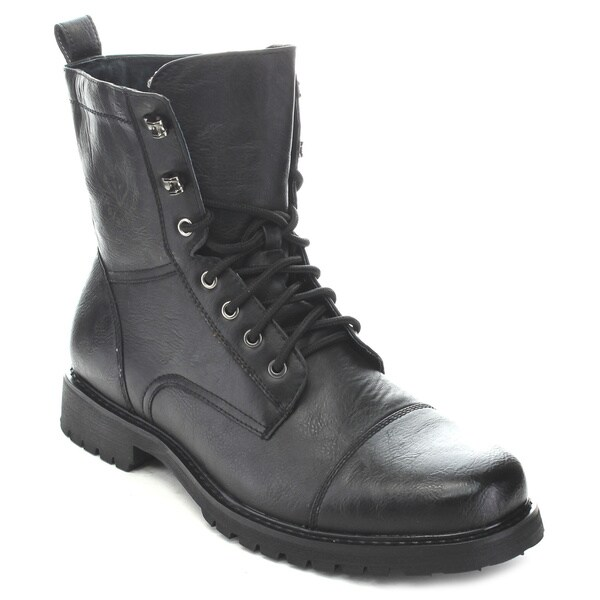 Polar Fox Men's Lace-Up Combat Boots