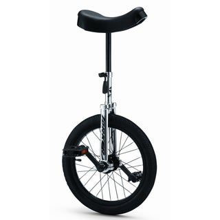 Torker Unistar CX 16-inch Chrome and Black Unicycle