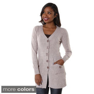 Hadari Women's Open Button-up Cardigan