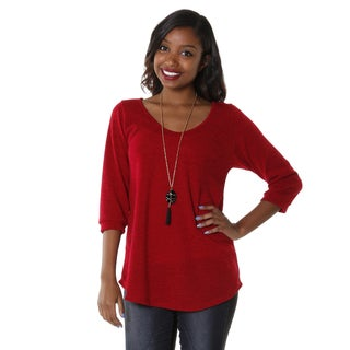 Hadari Women's Scoop Neck Top