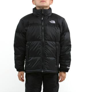 The North Face Boy's Nuptse Black Jacket