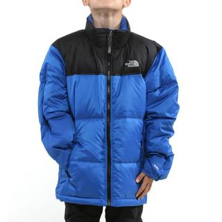 The North Face Boy's Nuptse Nautical Blue Jacket