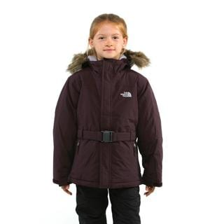 North Face Girl's Greenland Merlot Red Jacket SM(7-8)
