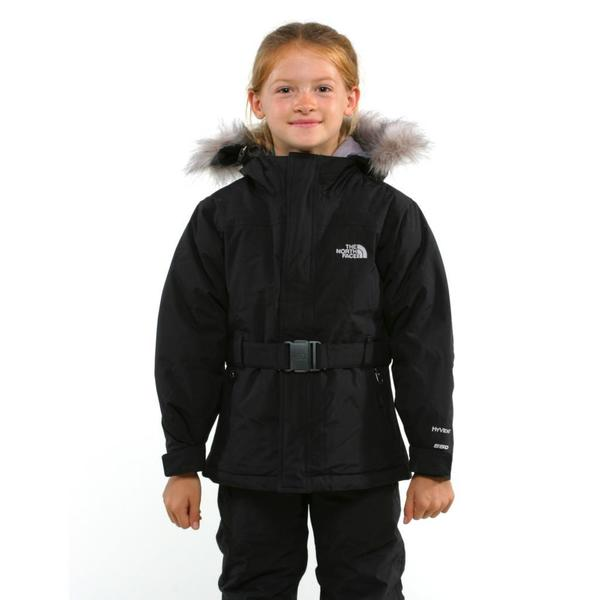 North Face Girl's Greenland TNF Black Jacket