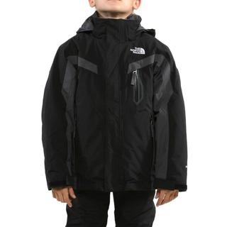 North Face Boy's Boundary Triclimate TNF Black & Graphite Grey Jacket