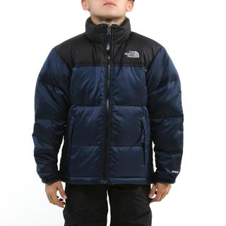 The North Face Boy's Nuptse Cosmic Blue Jacket