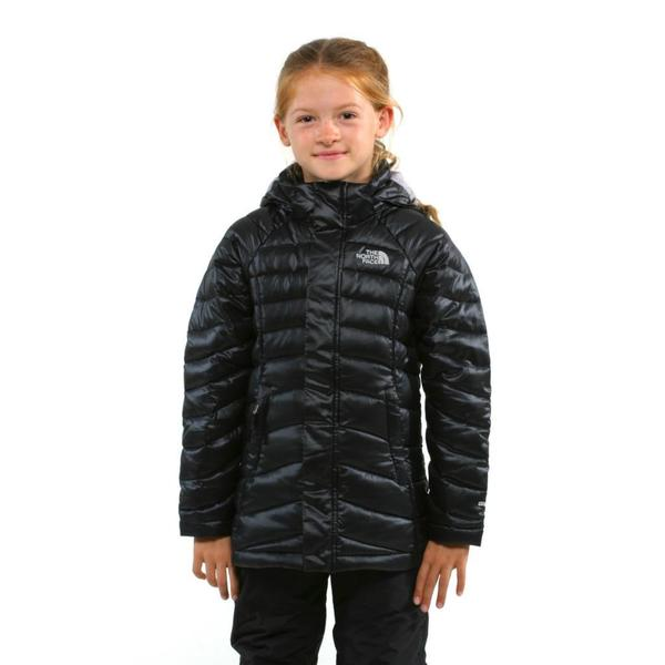 The North Face Girl's Transit Down TNF Black Parka