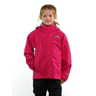 The North Face Girl's Resolve Razzle Pink Jacket