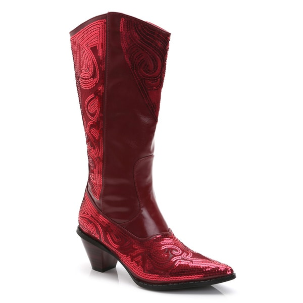 Ann Creek Women's Ponce Mid-Calf Metallic Boots