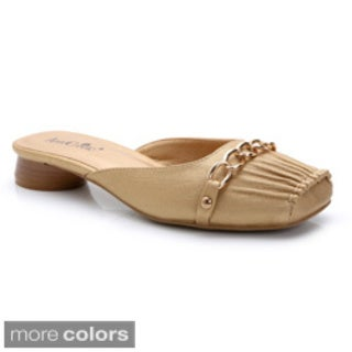 Ann Creek Women's Square Toe Mules