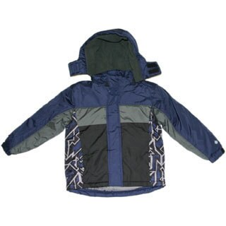Northpoint Toddler Boys Sodalite Blue Bubble Jacket
