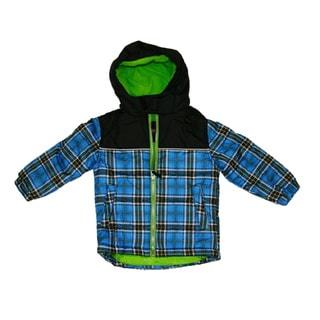 Northpoint Infant Boys Plaid Bubble Jacket