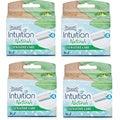 Schick Intuition Naturals Sensitive Care Razor Refill Cartridges (Pack of 4)