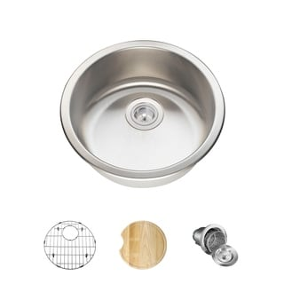 MR Direct 465 Kitchen Ensemble Stainless Steel Bar Sink