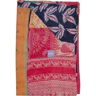 Hotel Vintage Handmade Kantha Multicolor Throw