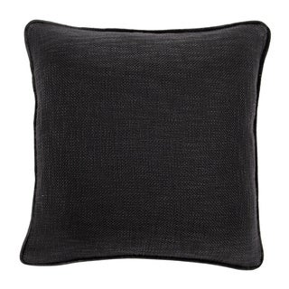 Fancy Charcoal Down and Feather Filled Decorative Pillow