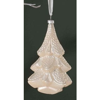 Sage & Co 6.25-inch Christmas Tree Glass Ornament (Pack of 6)