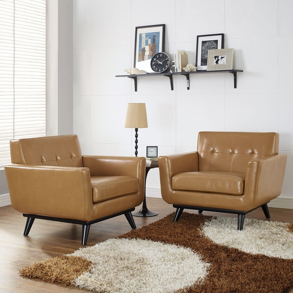 Engage Leather Chair Set