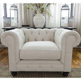 Estate Standard Chair In Seashell Fabric