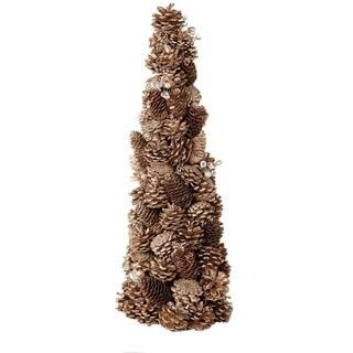 Sage & Co 22-inch Pinecone Jewel Glitter Cone