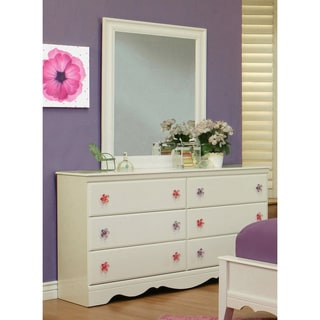 Sandberg Furniture Dulce Dresser and Mirror