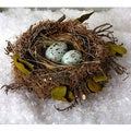 Sage & Co 6-inch Birds Nest With Eggs (Pack of 6)